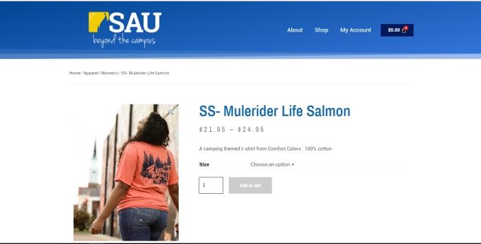 mulerider life salmon screenshot