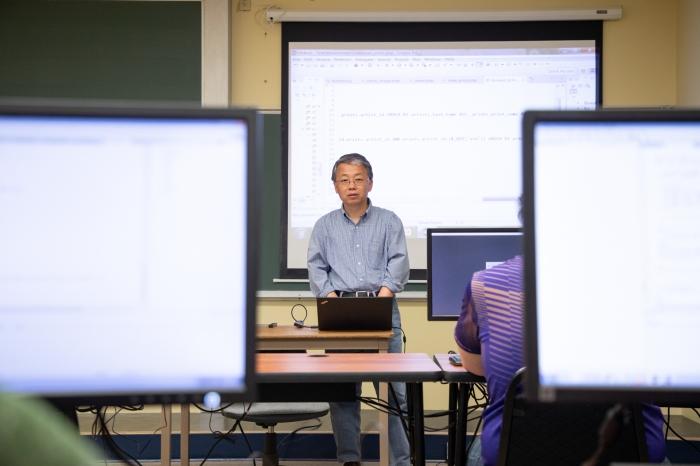 Dr. Hong Cheng Web Programming Class60_web
