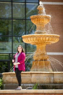 Business Student Spotlight Erin